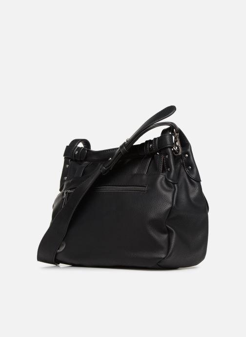 Handbags Tamaris Bernadette Satchel Bag Black view from the right