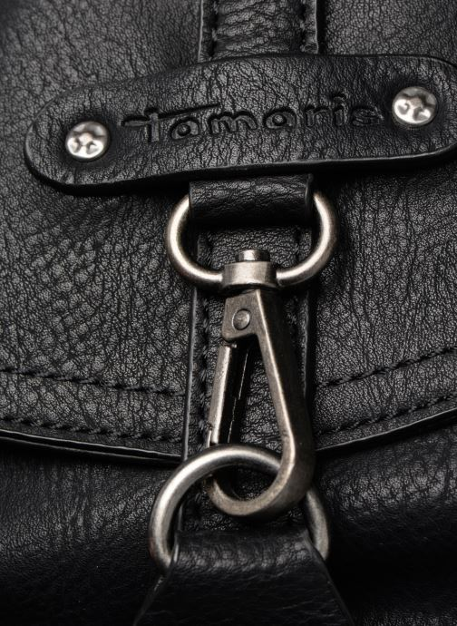Handbags Tamaris Bernadette Satchel Bag Black view from the left