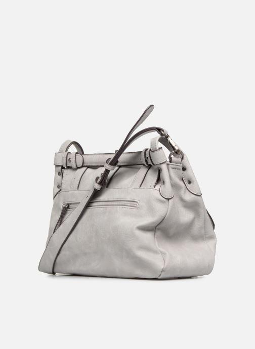 Handbags Tamaris Bernadette Satchel Bag Grey view from the right