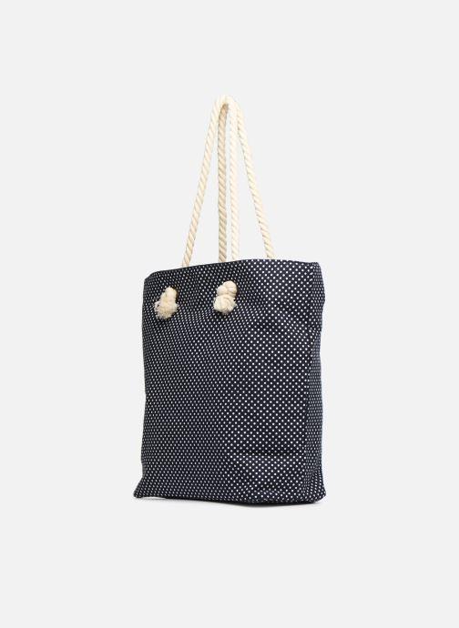 Sacs à main Tamaris Carina Shopping Bag Bleu vue portées chaussures