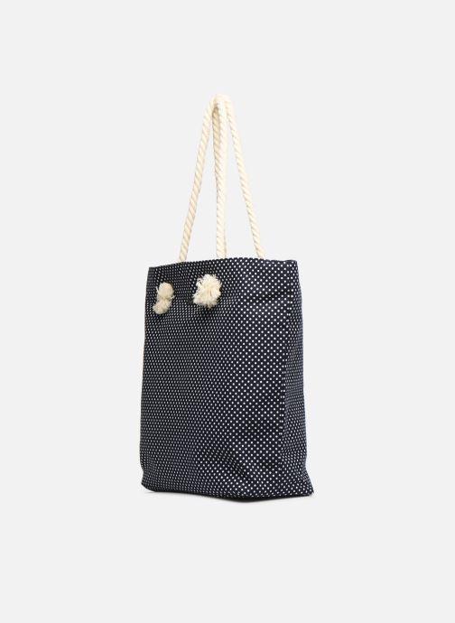 Sacs à main Tamaris Carina Shopping Bag Bleu vue droite