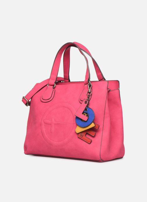 Handtaschen Tamaris Fee Handbag rosa schuhe getragen