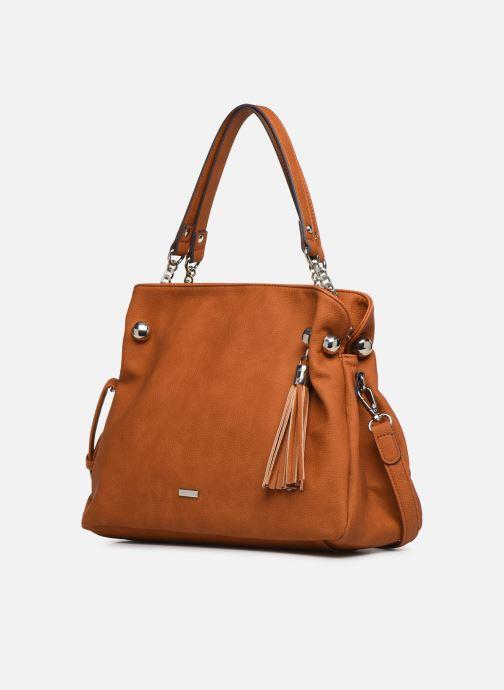 Handtaschen Tamaris Gweny Shoulder Bag braun schuhe getragen