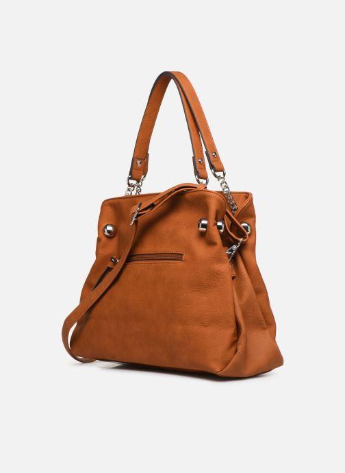 Handtaschen Tamaris Gweny Shoulder Bag braun ansicht von rechts
