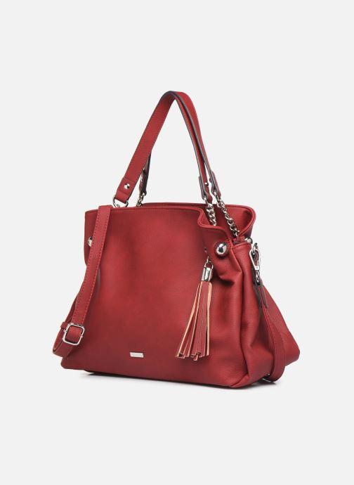Sacs à main Tamaris Gweny Shoulder Bag Rouge vue portées chaussures