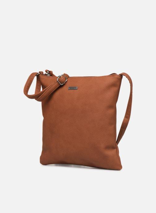 Handbags Tamaris Louise Crossbody Bag M Brown model view