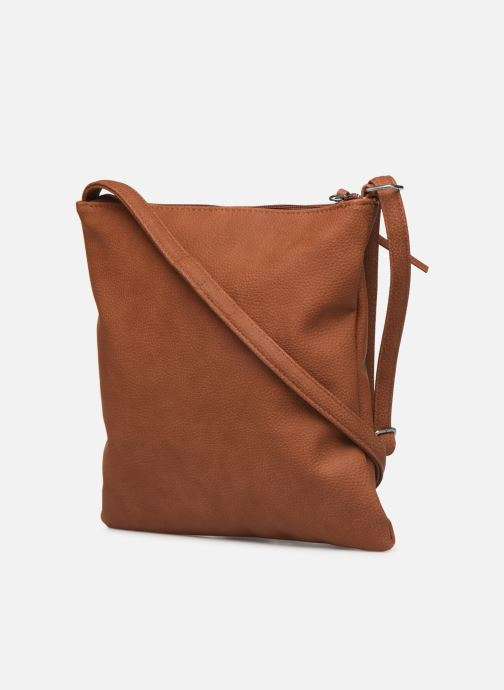 Handbags Tamaris Louise Crossbody Bag M Brown view from the right