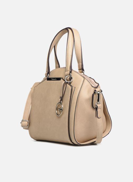 Handbags Tamaris Mirella Handbag Beige model view