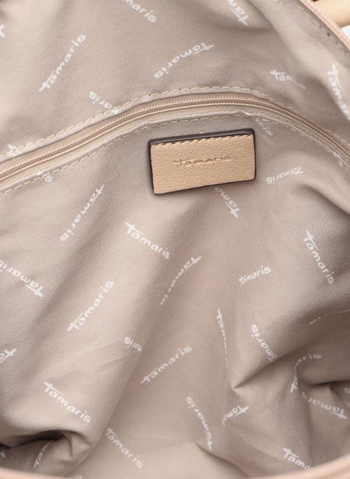 Handbags Tamaris Mirella Handbag Beige back view