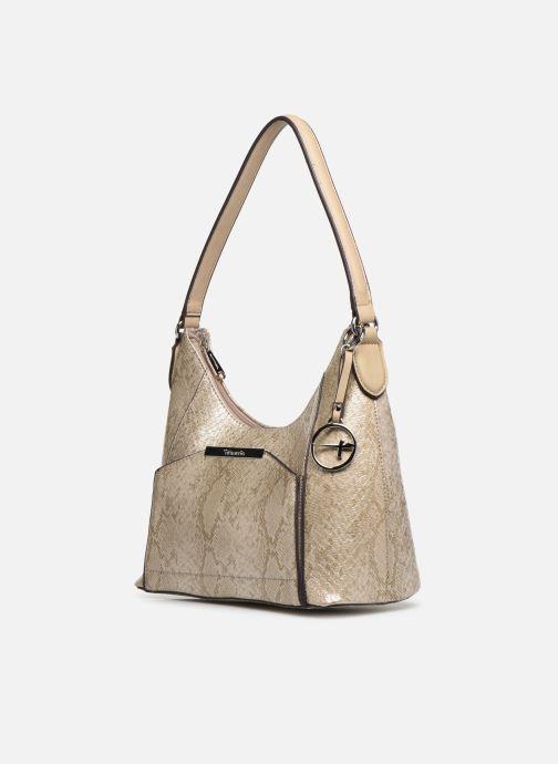 Handbags Tamaris Mirella Hobo Bag S Bronze and Gold model view