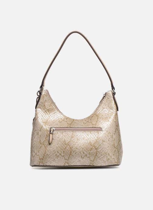 Handbags Tamaris Mirella Hobo Bag S Bronze and Gold front view