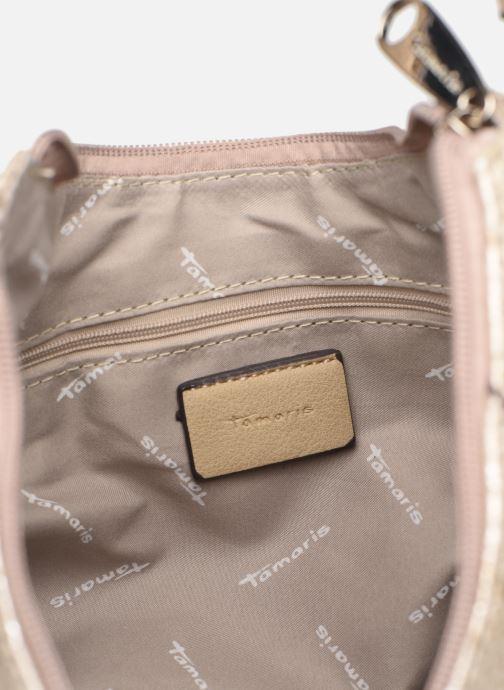 Handbags Tamaris Mirella Hobo Bag S Bronze and Gold back view