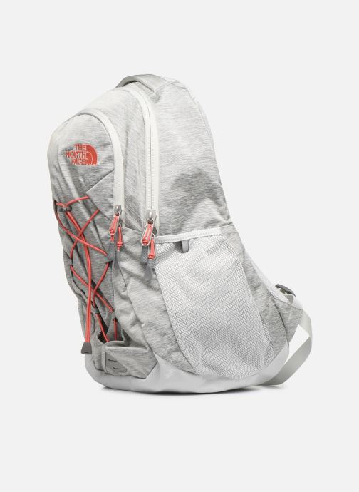Zaini The North Face W JESTER Grigio modello indossato