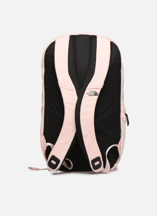 Mochilas The North Face W ELECTRA Rosa vista de frente