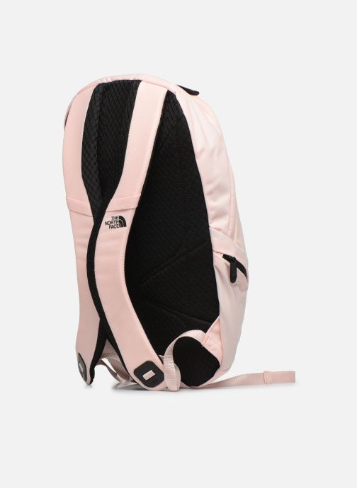 Mochilas The North Face W ELECTRA Rosa vista lateral derecha