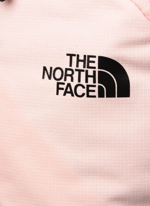 Mochilas The North Face W ELECTRA Rosa vista lateral izquierda