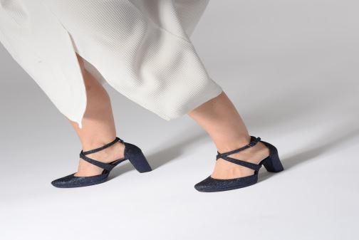 High heels Tamaris Katarina Blue view from underneath / model view