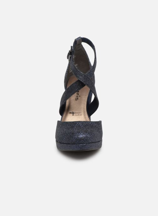 Escarpins Tamaris Katarina Bleu vue portées chaussures