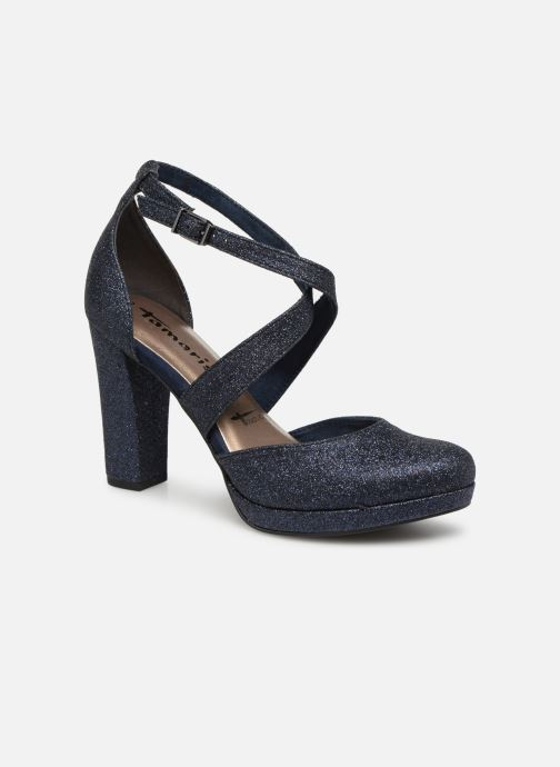 High heels Tamaris Katarina Blue detailed view/ Pair view