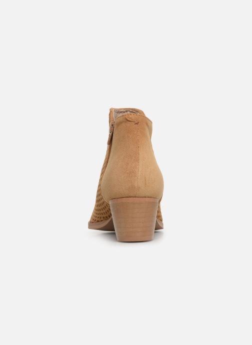 Bottines et boots Georgia Rose Arletia Beige vue droite
