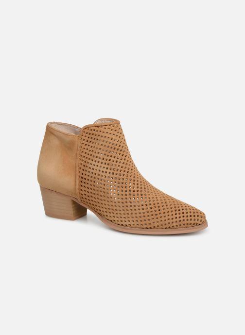 Bottines et boots Georgia Rose Arletia Beige vue détail/paire
