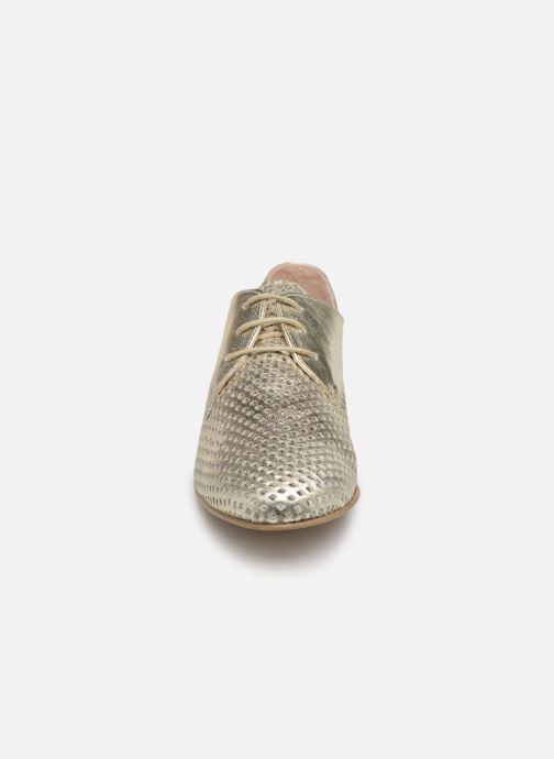 Chaussures à lacets Georgia Rose Aenor Or et bronze vue portées chaussures