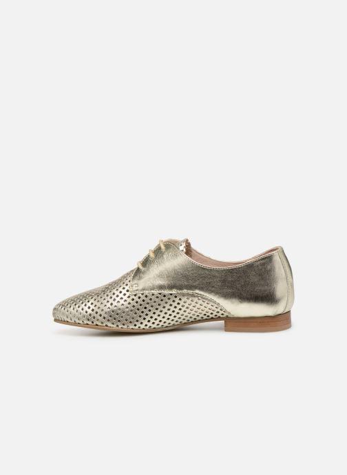 Chaussures à lacets Georgia Rose Aenor Or et bronze vue face