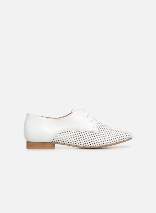 Chaussures à lacets Georgia Rose Aenor Blanc vue derrière