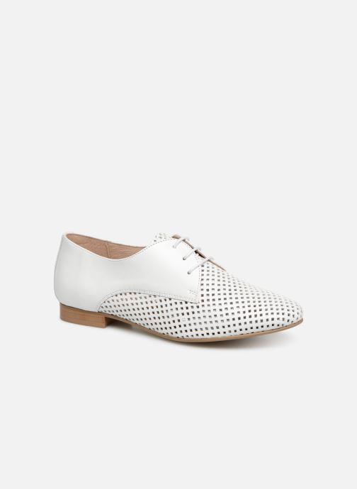 Chaussures à lacets Georgia Rose Aenor Blanc vue détail/paire