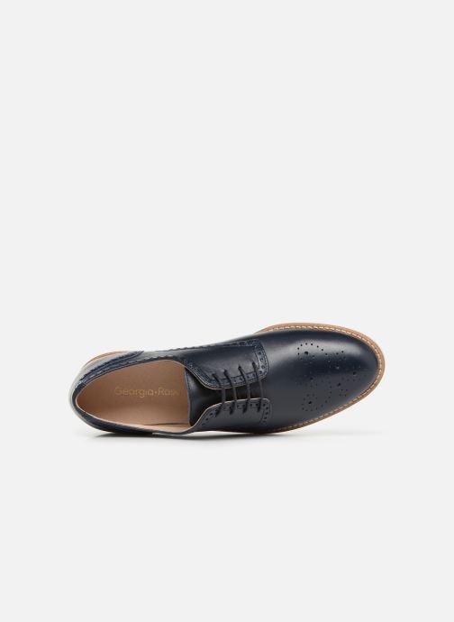Chaussures à lacets Georgia Rose Apolonia Bleu vue gauche