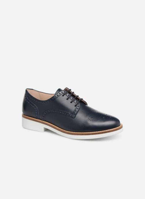 Chaussures à lacets Georgia Rose Apolonia Bleu vue détail/paire