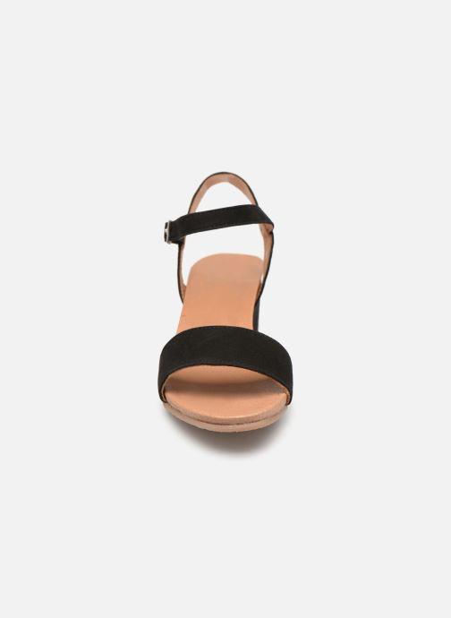 Sandales et nu-pieds Georgia Rose Ablican soft Noir vue portées chaussures