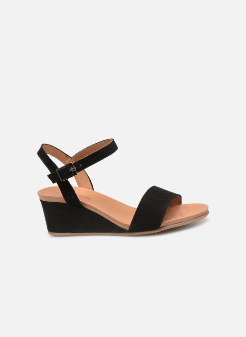 Sandales et nu-pieds Georgia Rose Ablican soft Noir vue derrière