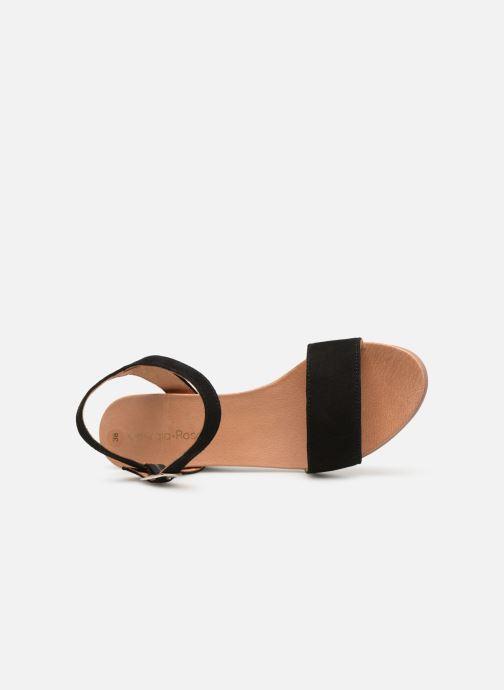 Sandales et nu-pieds Georgia Rose Ablican soft Noir vue gauche