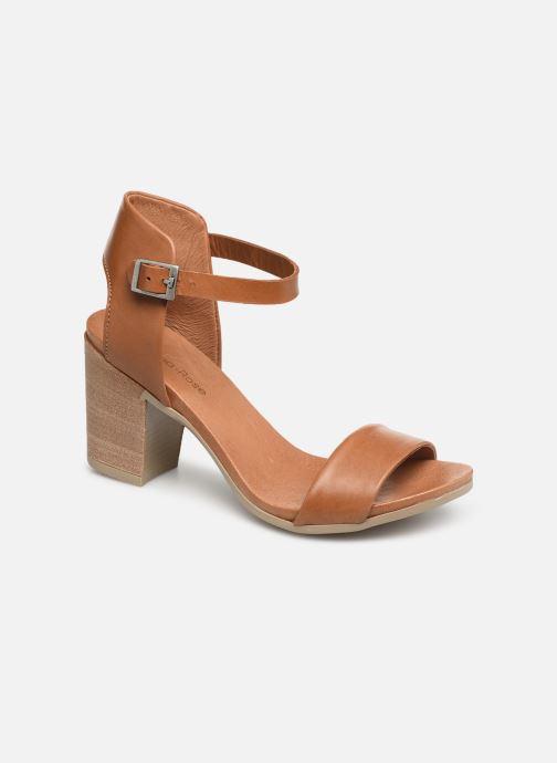 Sandales et nu-pieds Georgia Rose Amumy soft Marron vue détail/paire