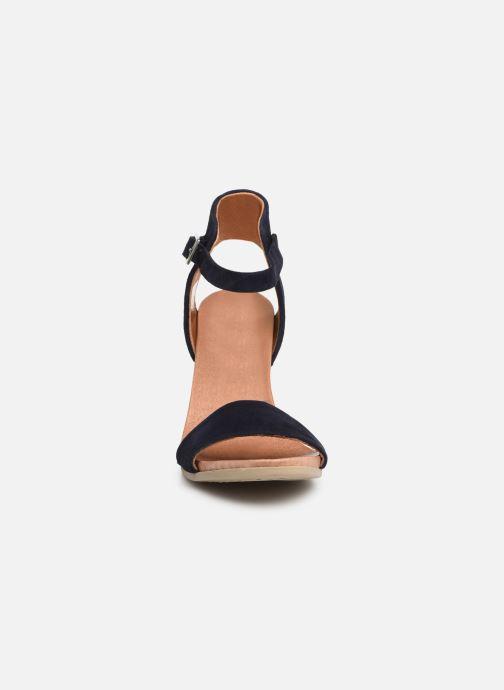 Sandales et nu-pieds Georgia Rose Amumy soft Bleu vue portées chaussures