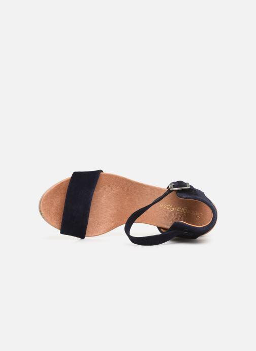 Sandales et nu-pieds Georgia Rose Amumy soft Bleu vue gauche