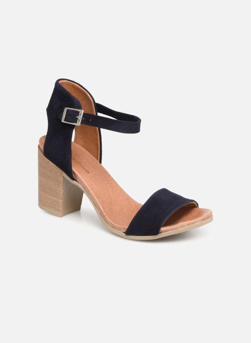 Sandales et nu-pieds Georgia Rose Amumy soft Bleu vue détail/paire