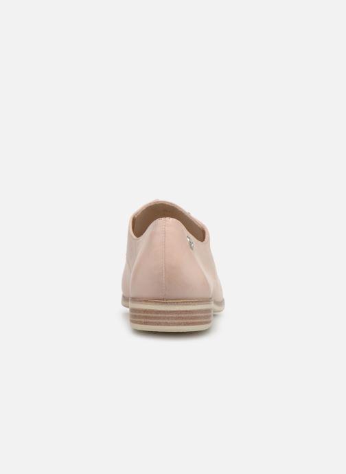 Chaussures à lacets Tamaris Constanze Beige vue droite