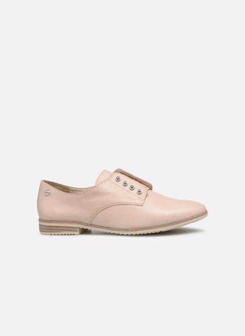 Chaussures à lacets Tamaris Constanze Beige vue derrière