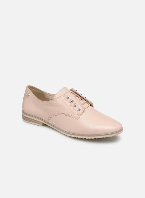Chaussures à lacets Tamaris Constanze Beige vue détail/paire