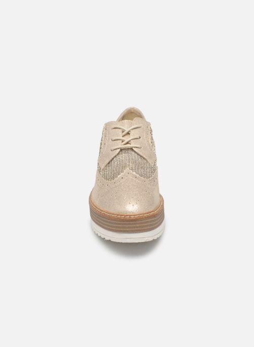 Chaussures à lacets Tamaris Cornelia Or et bronze vue portées chaussures