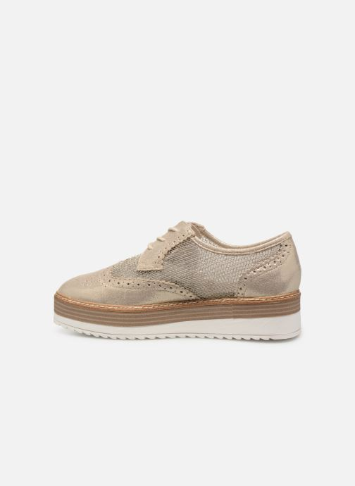 Chaussures à lacets Tamaris Cornelia Or et bronze vue face