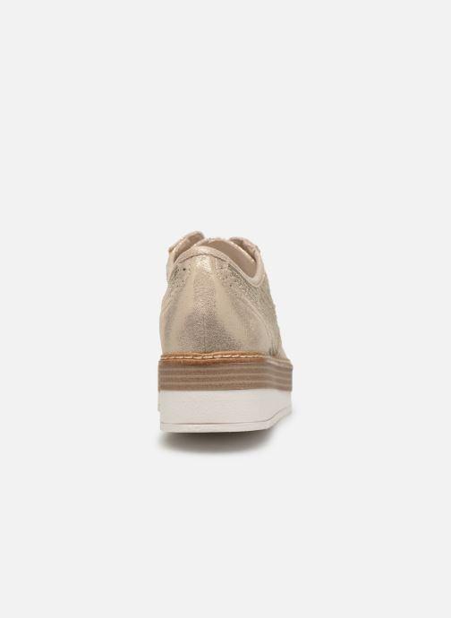 Chaussures à lacets Tamaris Cornelia Or et bronze vue droite
