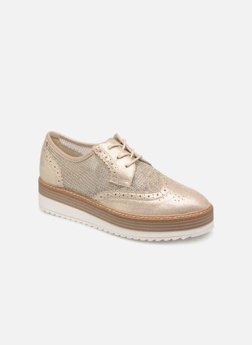 Chaussures à lacets Tamaris Cornelia Or et bronze vue détail/paire