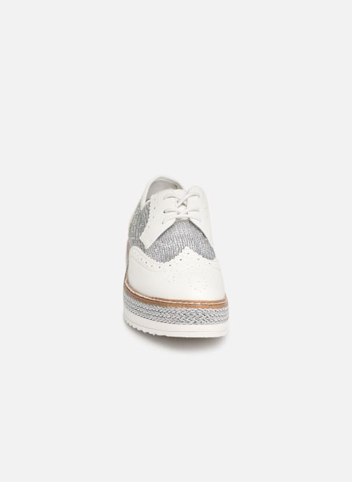 Chaussures à lacets Tamaris Cornelia Blanc vue portées chaussures
