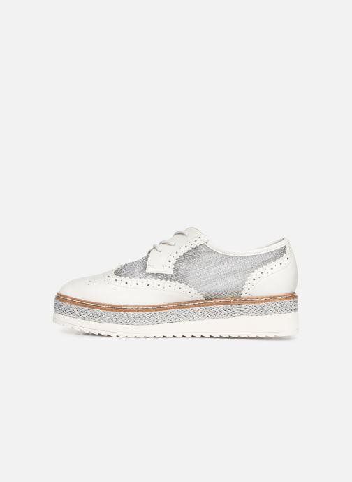 Lace-up shoes Tamaris Cornelia White front view