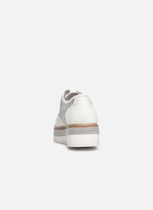 Chaussures à lacets Tamaris Cornelia Blanc vue droite