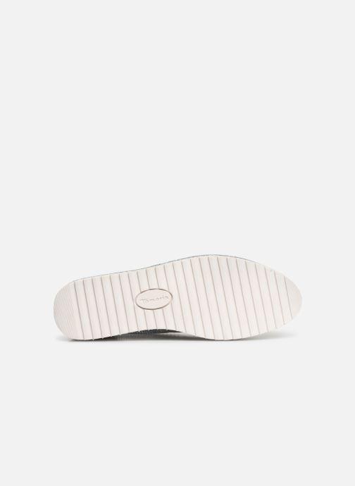 Chaussures à lacets Tamaris Cornelia Blanc vue haut