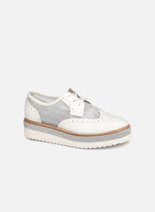 Lace-up shoes Tamaris Cornelia White detailed view/ Pair view